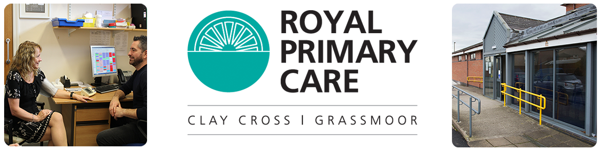 Royal Primary Care Clay Cross Logo